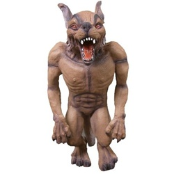 Wolf Haunted House Prop