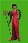Women's Sexy Desirable Devil Costume from Disguise