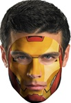 Marvel Comics Iron Man 2 Face Tattoo