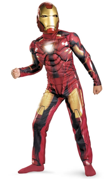 Licensed Marvel Comics - Kid's Iron Man Costume