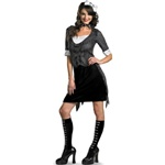 Officially Licensed Sexy Jack Skellington Female Adult Costume