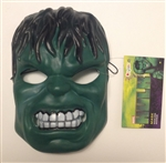 Plastic Incredible Hulk Mask for Halloween