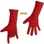 Adult Spiderman Deluxe Costume Gloves