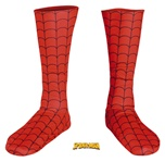 Adult Spiderman Deluxe Costume Boot Covers