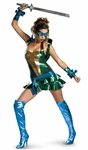 Licensed Teenage Mutant Ninja Turtles - Sexy Leonardo Costume