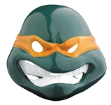 Michelangelo Mask for Halloween - Teenage Mutant Ninja Turtles