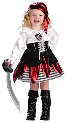 Girls Toddler Pirate Costume by Disguise