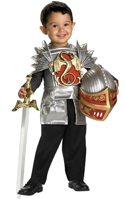 Knight of the Dragon Toddler Costume - Renaissance