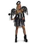 Tween/Junoir Fallen Angel Fairy Costume - Gothic