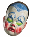 Creepy Clown Doll Halloween Mask