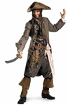 Licensed Jack Sparrow Costume from Pirates of the Caribbean