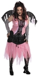 Plus Size Pink Gothic Fairy Costume