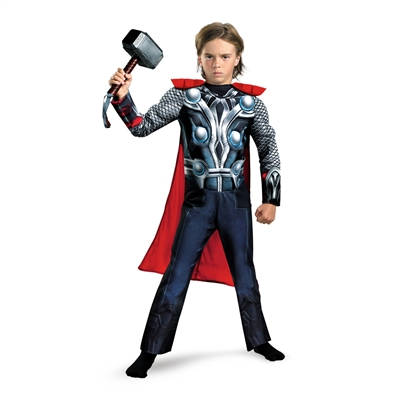 Kid's Thor Muscle Costume