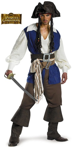 Deluxe Pirates of the Caribbean Costume