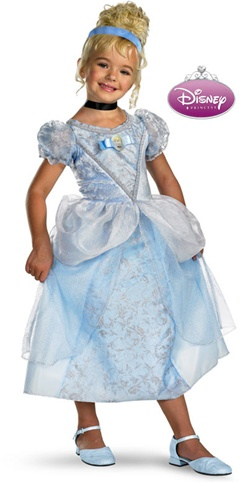 Officially Licensed Cinderella Deluxe Child Costume