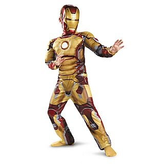 Kid's Iron Man Mark 42 Light Up Costume