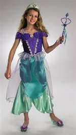 Girl's Deluxe Princess Ariel Costume
