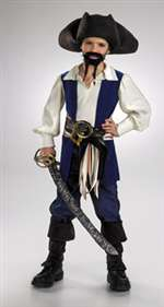 Child Jack Sparrow Pirate Costume