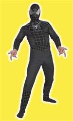 Adult Black Spiderman Costume