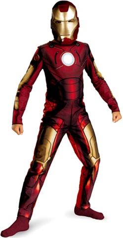 Iron Man 2 Mark III Suit Costume - Child