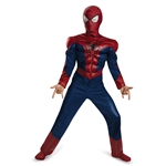 Boy's Spiderman 2 Muscle Costume