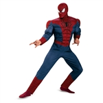 Men's Spiderman 2 Muscle Costume
