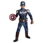 Child Captain America Winter Soldier Costume