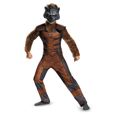 Kids Deluxe Rocket Raccoon Costume