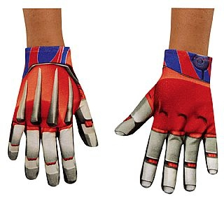 Boy's Optimus Prime Transformers Gloves