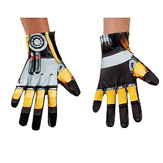 Transformers Bumblebee Gloves