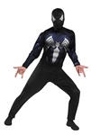 Men's Black Spider-Man Costume