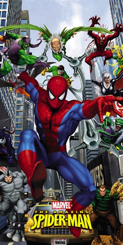 Spider-Man and Friends banner