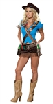 Sexy Cowgirl Costume - Shoot'em Up from Dreamgirl