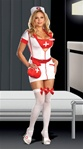 Sexy Plus Size Nurse Costume