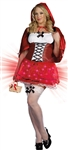 Plus Size Little Red Riding Hood Costume from Dreamgirl