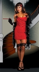 Red Flapper Halloween Costume