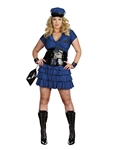Sexy Plus Size Police Woman Costume from Dreamgirl