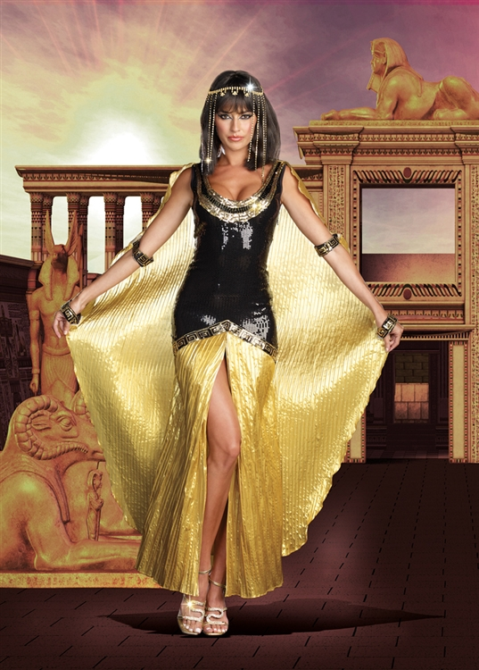 Adult cleopatra halloween costumes