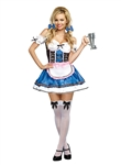 Sexy Oktoberfest Beer Girl Costume