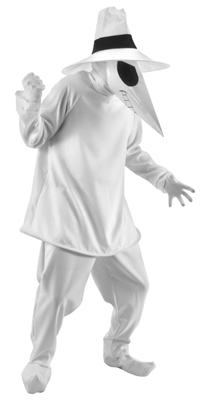 Deluxe Mad White Spy vs Spy Costume