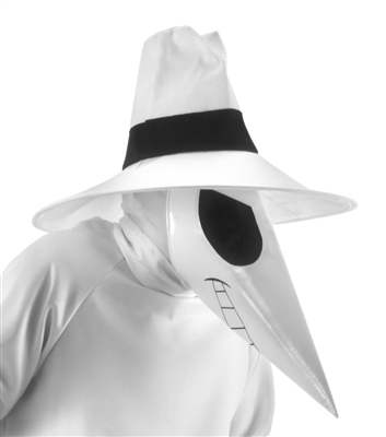 Mad White Spy vs Spy Mask