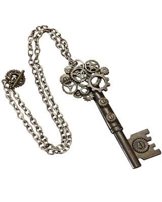 Large Antique Key Steampunk Necklace