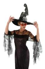 Spiral Witch Adult Hat