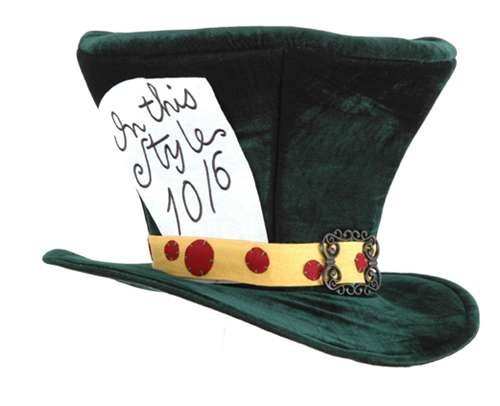 Mad Hatter Hat - Adult