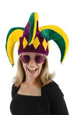 Royal Court Jester Adult Hat