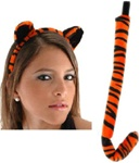 Tiger Ears and Tail Accessory Kit