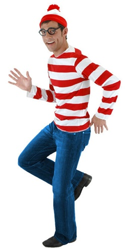 Where's Waldo Teen Costume