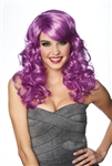 Lolita - Long Wavy Purple Wig