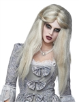 Long Grey Female Zombie Wig