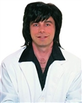 Black 70's Shag Wig for Men - Adult